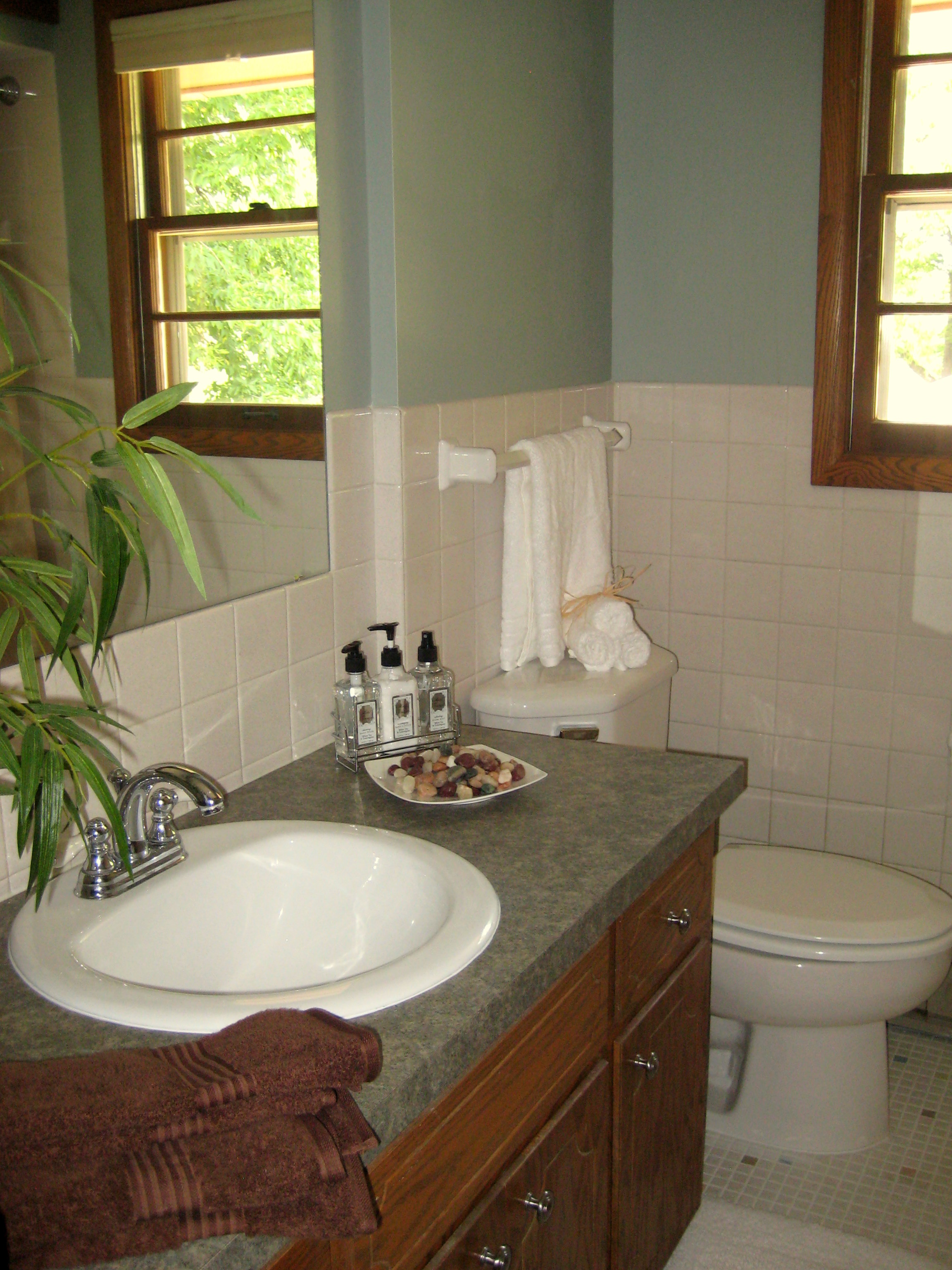 Staging Basics Tackle a Boring Powder Room